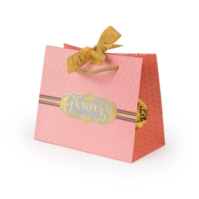Powder Alphabet Ankle Socks - F