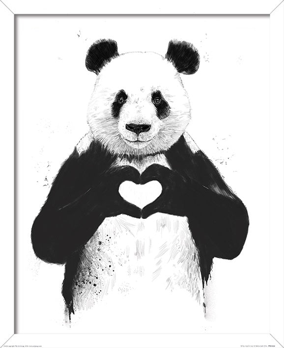 Balazs Solti All You Need Is Love Print - 40 x 50cm