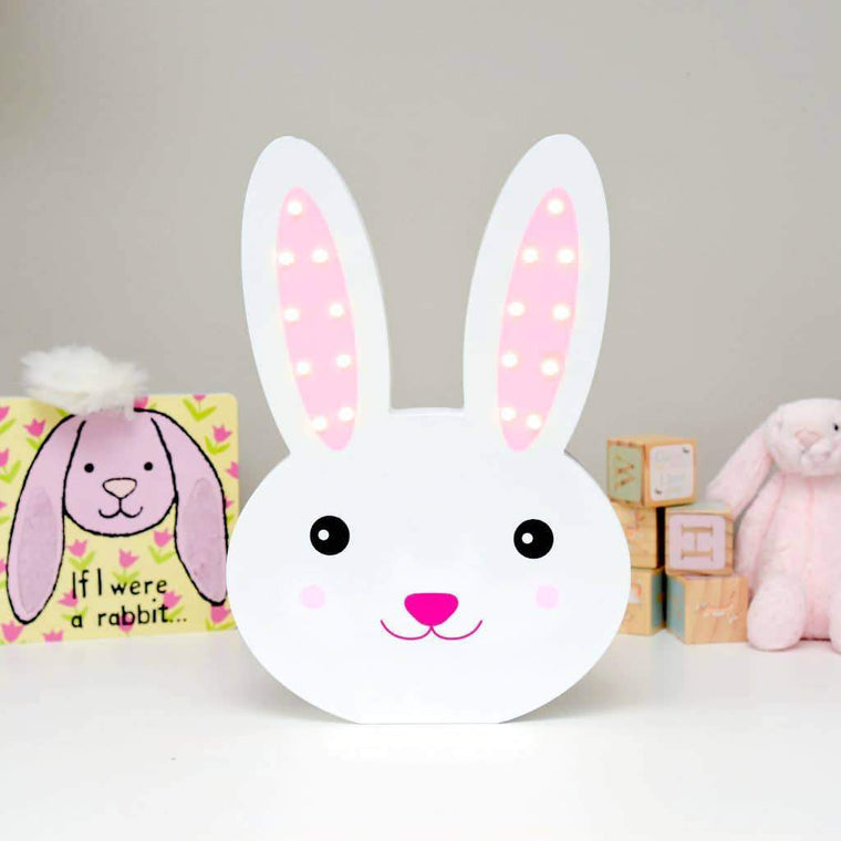 Smiling Faces Light Up Bunny Rabbit