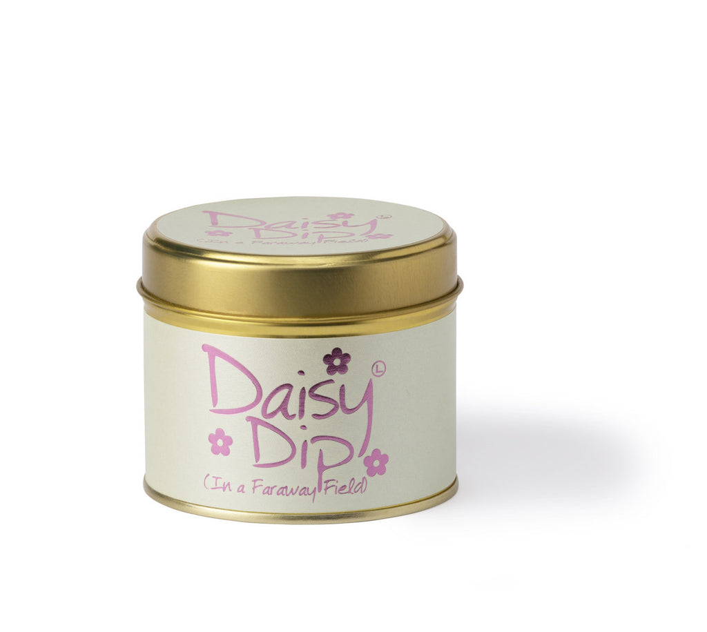 Lily-Flame Scented Tin Candle - Daisy Dip