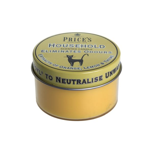 Price's Fresh Air Tin Candle - Household Pet
