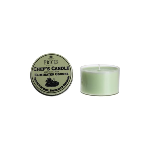 Price's Fresh Air Tin Candle - Chef's