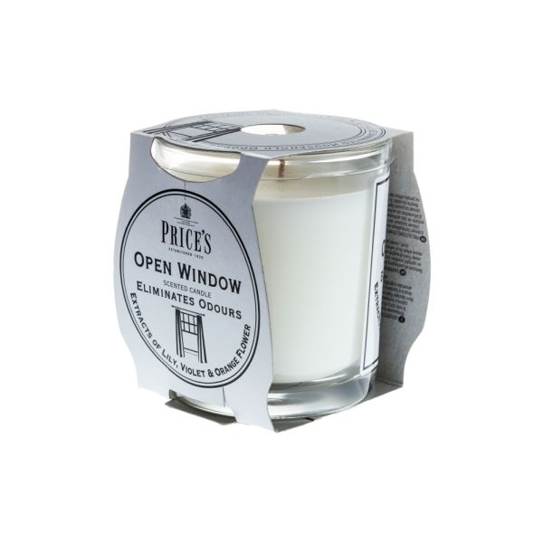 Price's Fresh Air Jar Candle - Open Window