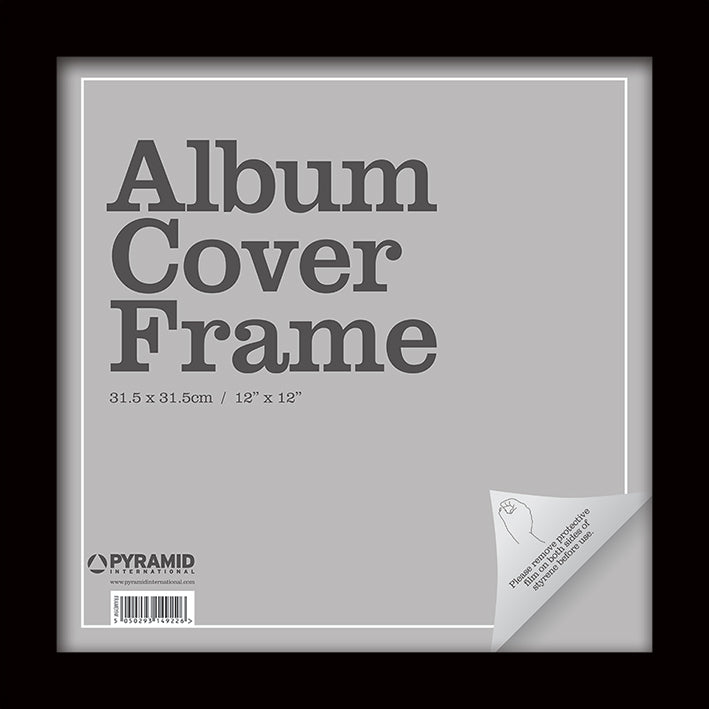 Album Cover Frame - Black