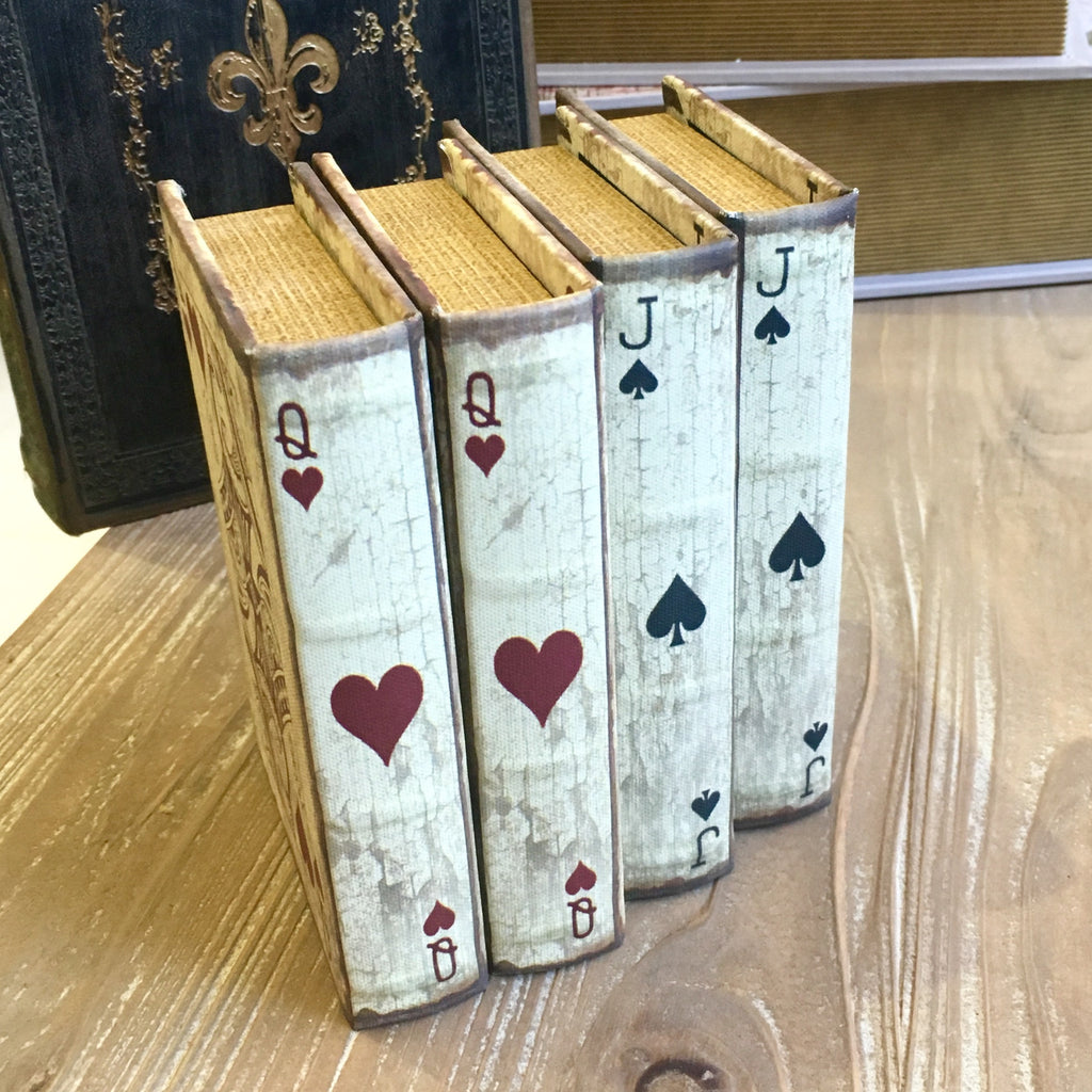 Queen of Hearts Book Storage Box
