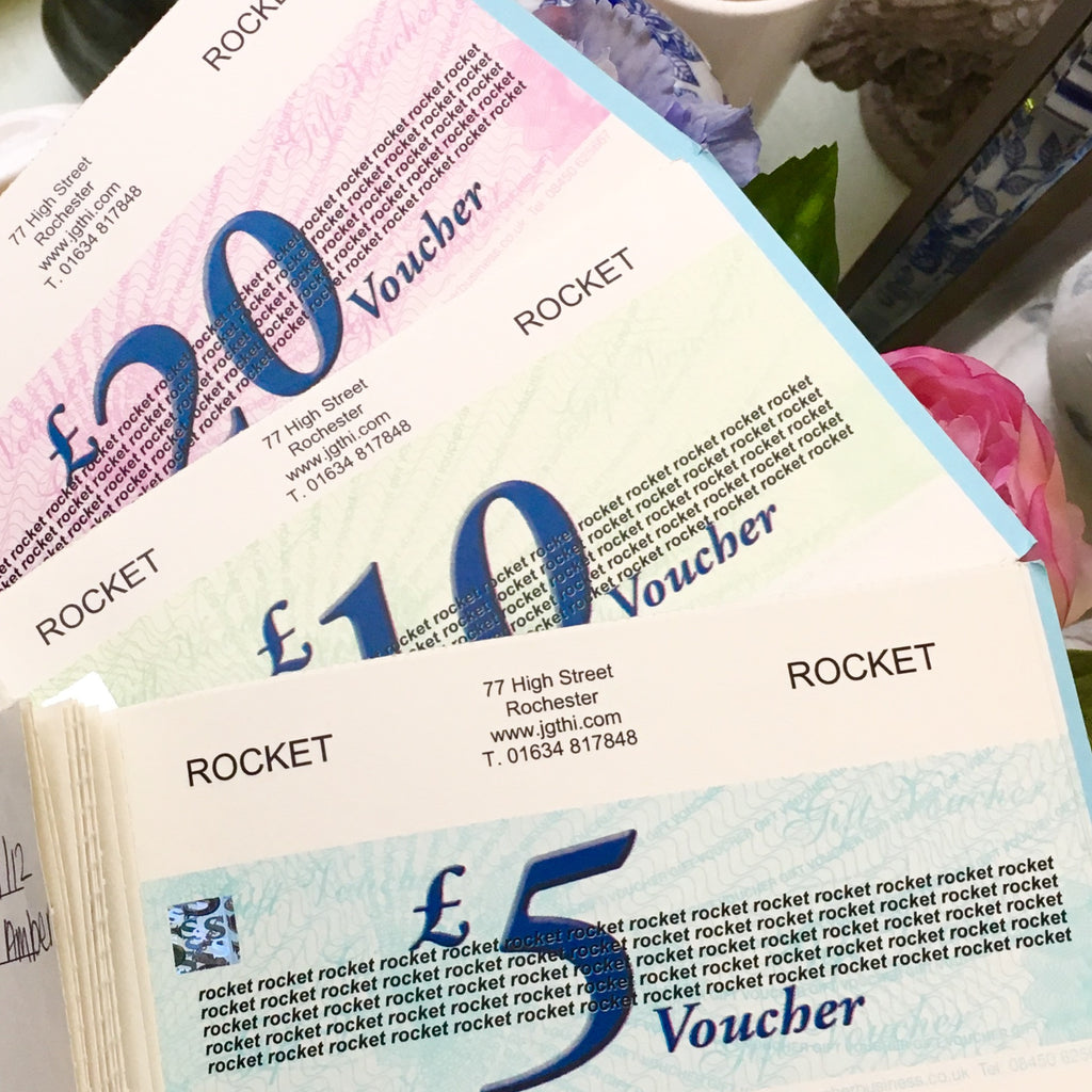 Gift Vouchers - Not For Online Purchases