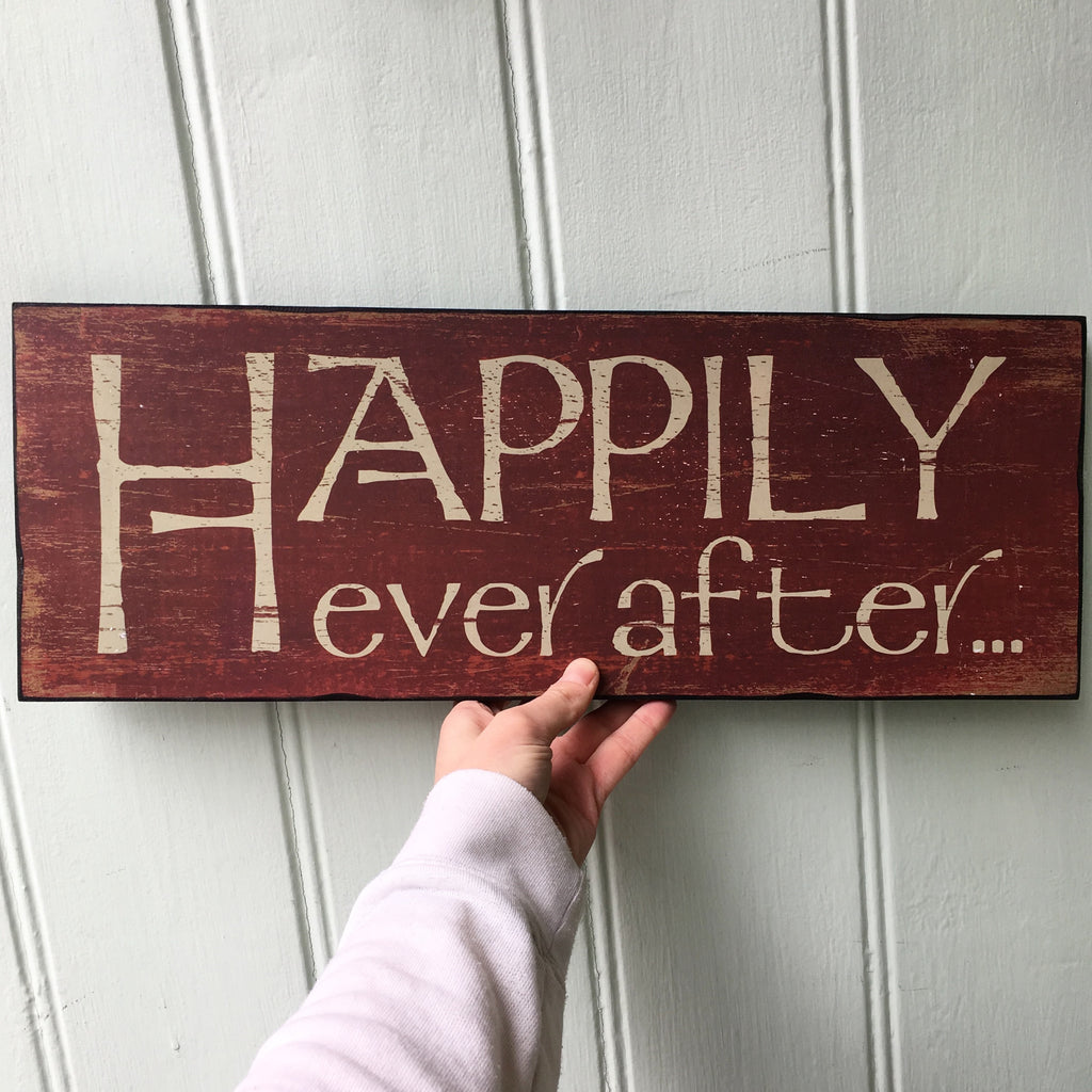 Happily Ever After... Sign