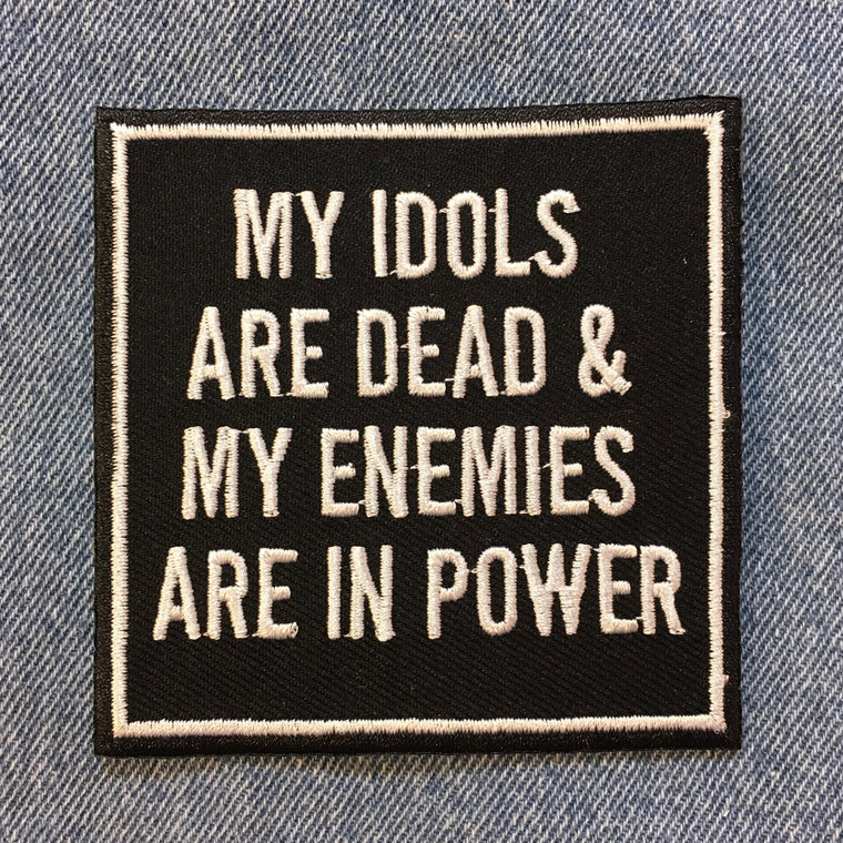 Iron on Patch - Idols & Enemies