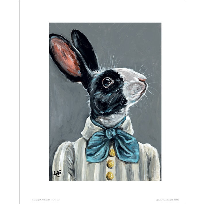 Louise Brown Lady Beatrice Art Print - 30 x 40cm