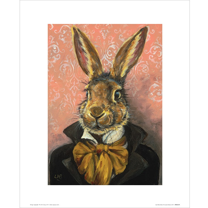Louise Brown Lord Bunnikins Art Print - 30 x 40cm