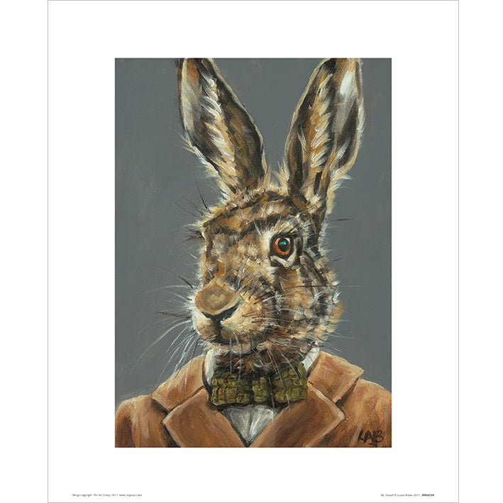 Louise Brown Mr Tweed Print - 30 x 40cm