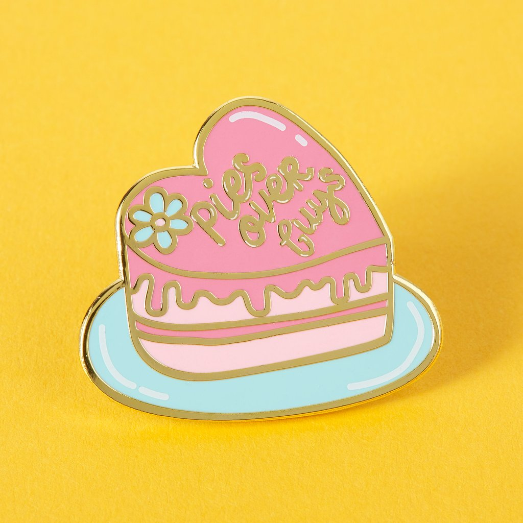 Punky Pins Enamel Pin Badge - Pies Over Guys
