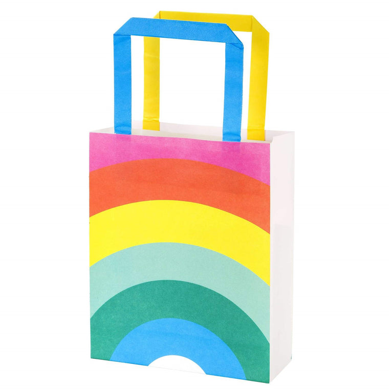 Rainbow Party Paper Treat Bags