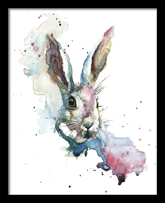 Sarah Stokes March Hare Print - 40 x 50cm