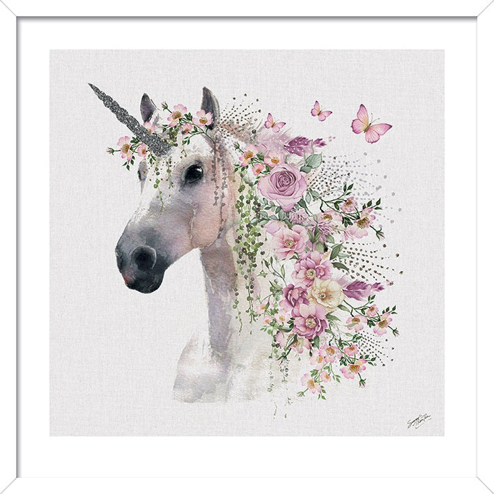 Summer Thornton Unicorn Print - 60 x 60cm