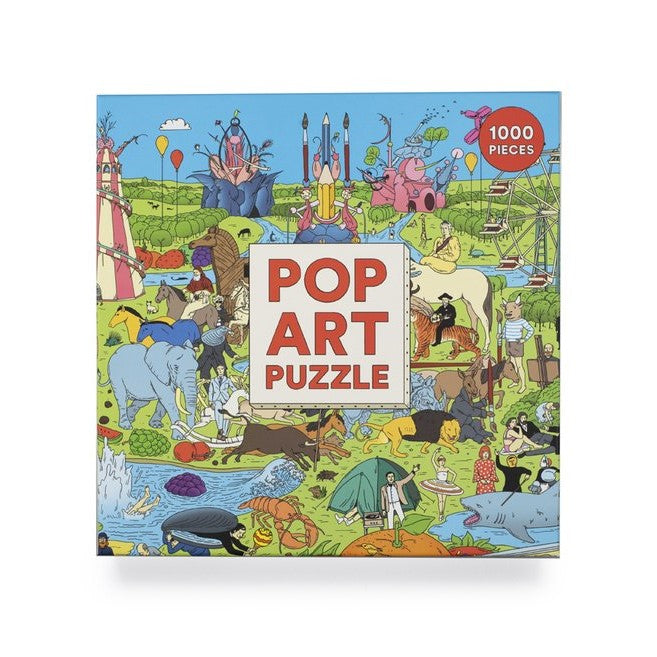 Pop Art 1000 Piece Puzzle