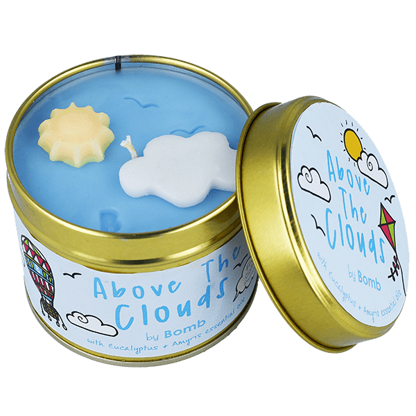 Above The Clouds Tinned Candle