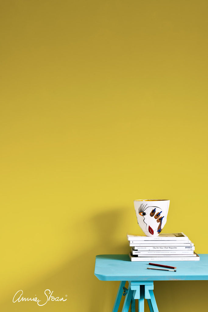 Annie Sloan Wall Paint - English Yellow