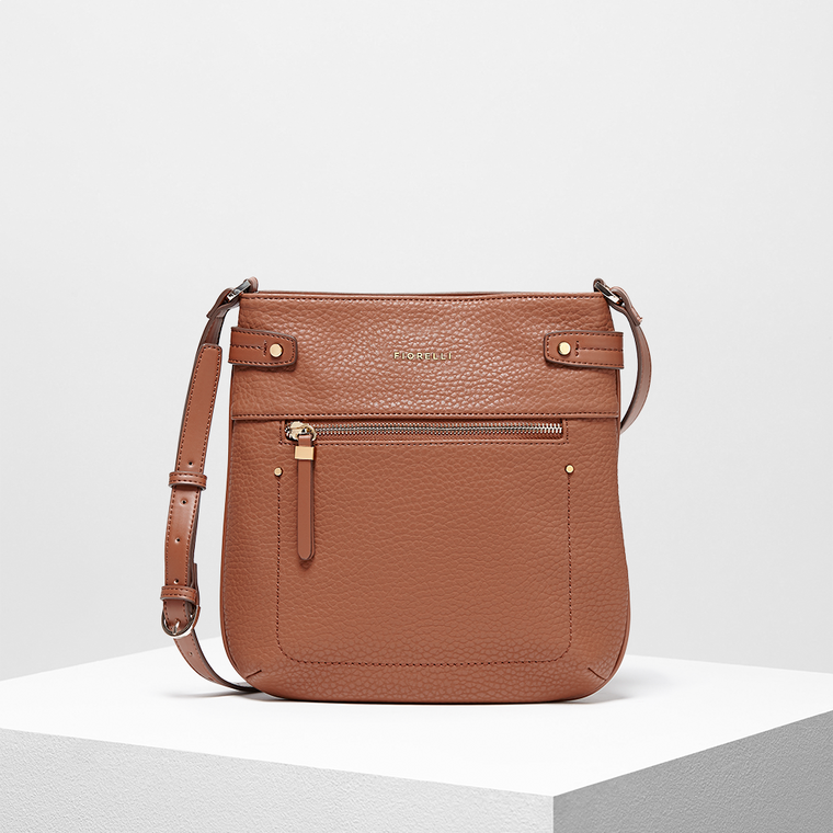 Anna Crossbody Bag - Tan