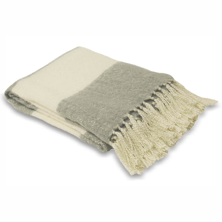 Cotswold Throw - Dove Grey