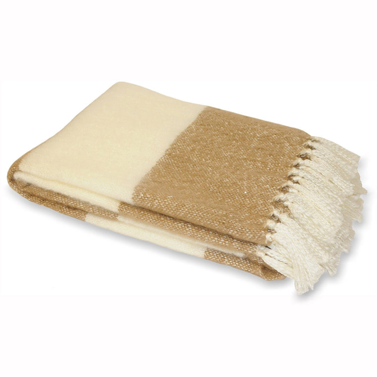 Cotswold Throw - Fudge