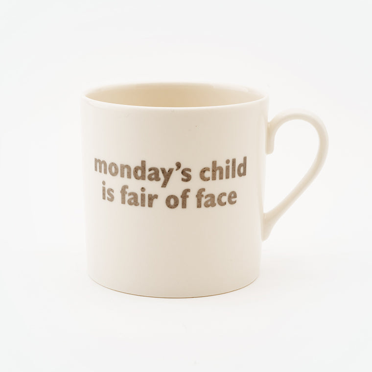 Real Platinum Mondays Child Mug