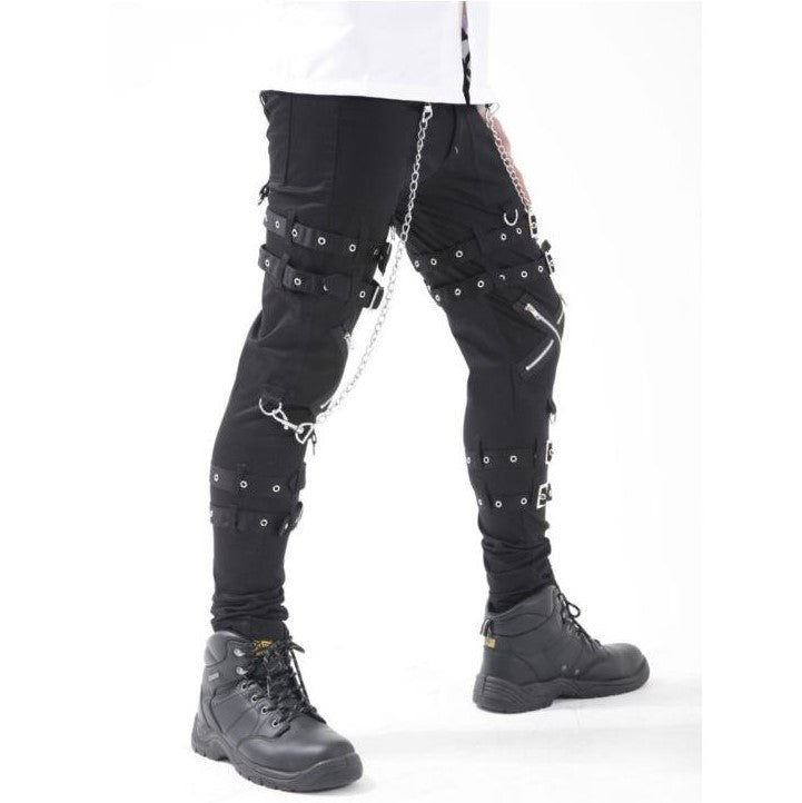 Dead Threads Buckles & Zips Bondage Trousers