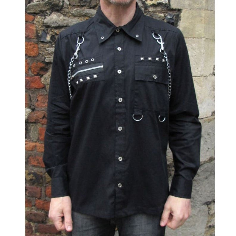 Dead Threads Long Sleeve Chain Shirt