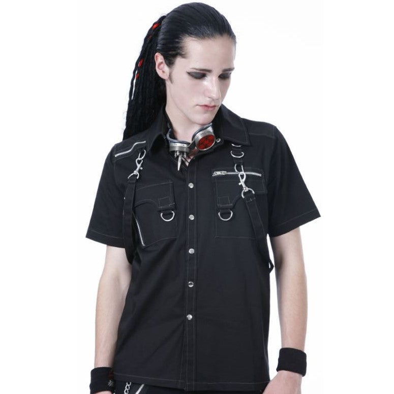 Dead Threads Short Sleeve Bondage Shirt