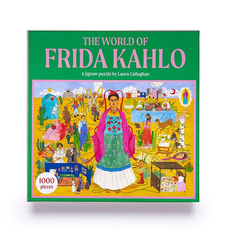 The World of Frida Kahlo: A Jigsaw Puzzle 1000 Pieces