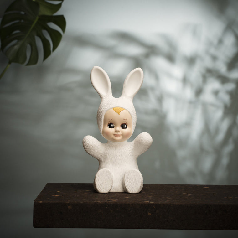 Goodnight Light Bunny Baby Rabbit Lamp - White