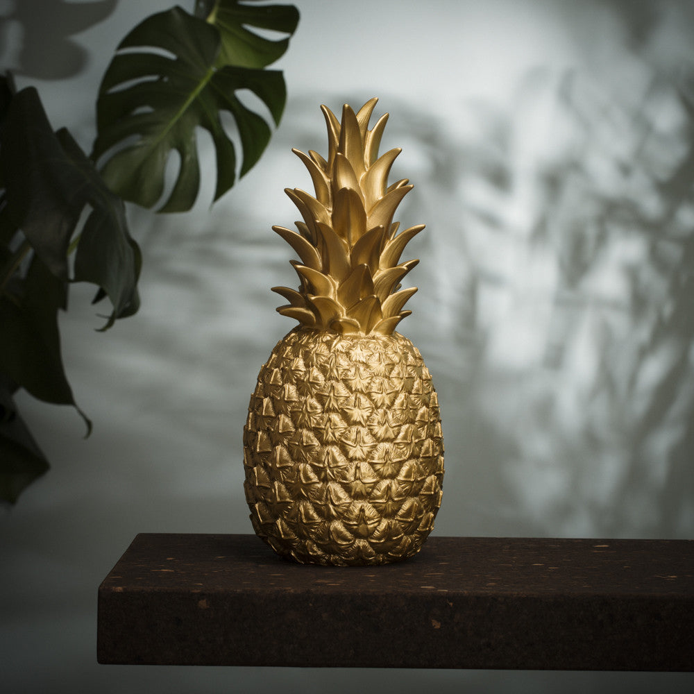 Goodnight Light Piña Colada Pineapple Lamp - Gold