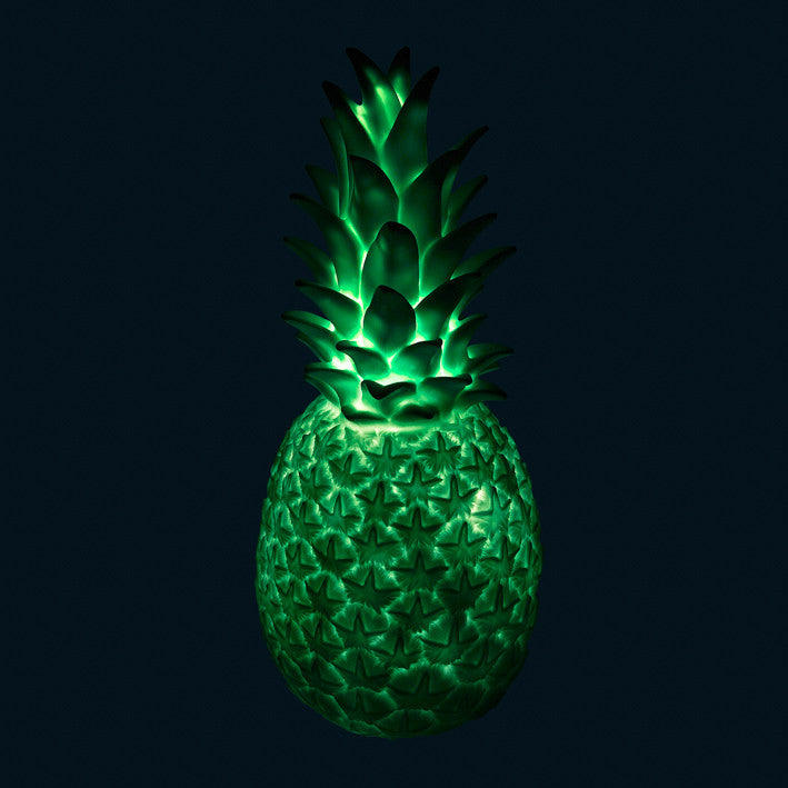 Goodnight Light Piña Colada Pineapple Lamp - Mint Green
