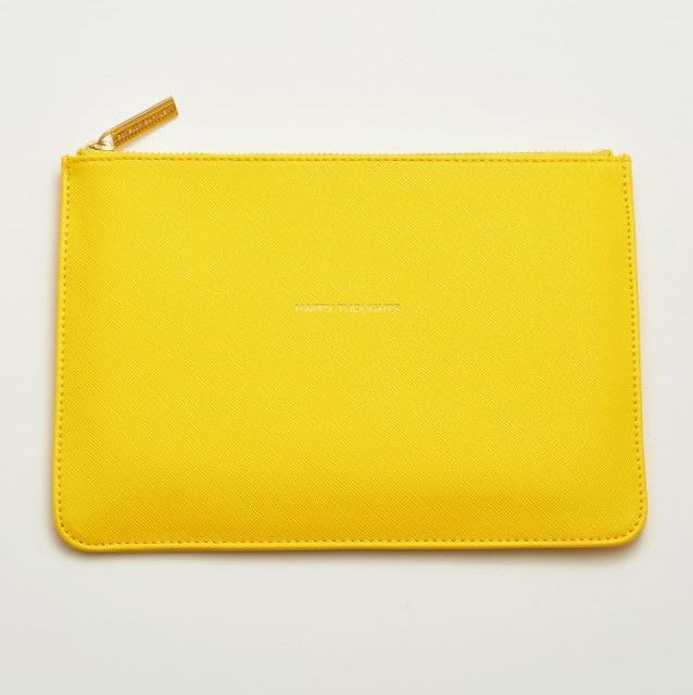 'Happy Thoughts' Medium Pouch