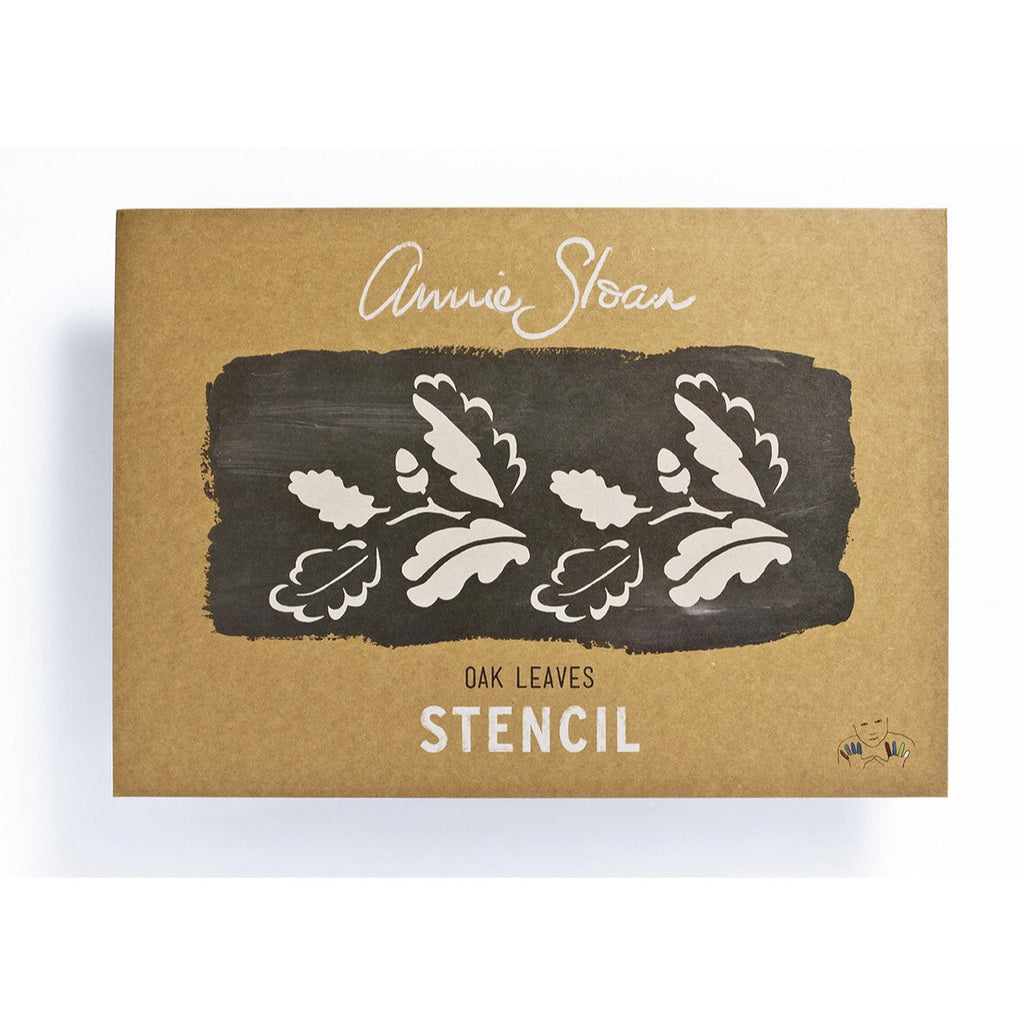 Annie Sloan Stencil - Oak Leaves