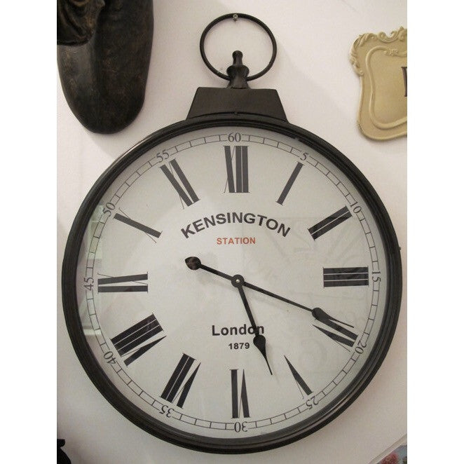 Kensington Station Large Wall Clock