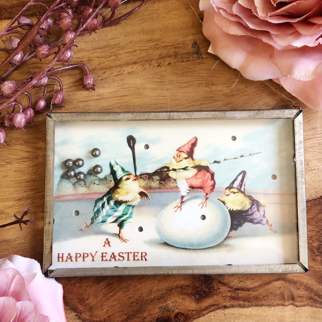 Retro Style Easter Game Decoration