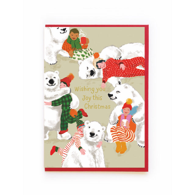 Polar Bears Christmas Card