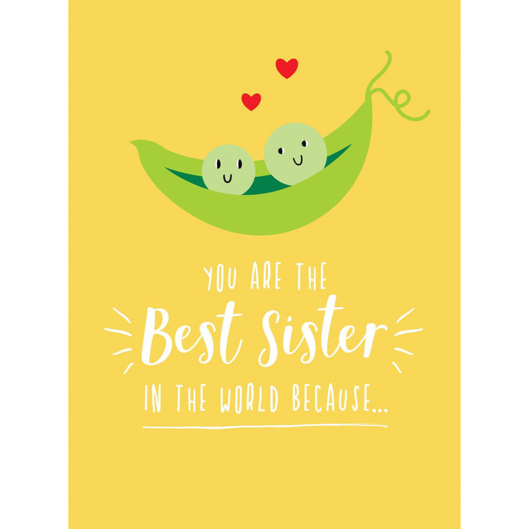 You Are The Best Sister In The World Because... - New Book