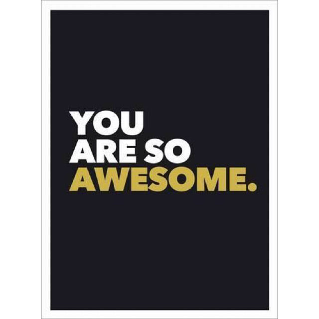 You Are So Awesome - New Book