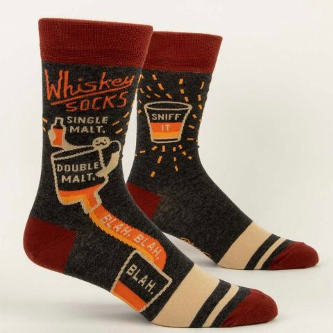 Whiskey - Mens Crew Socks