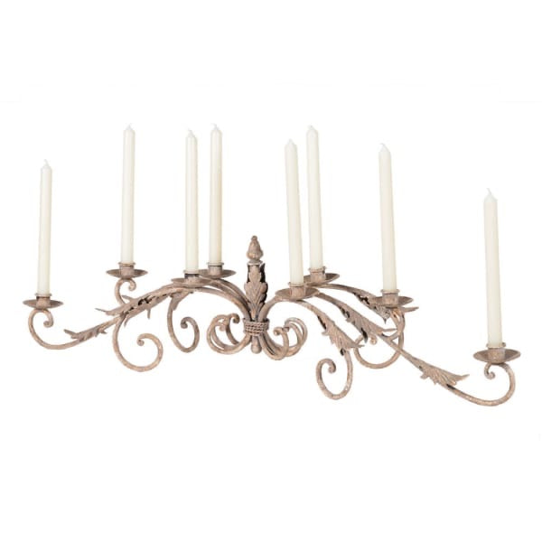 8 Arm Leaves Table Candelabra