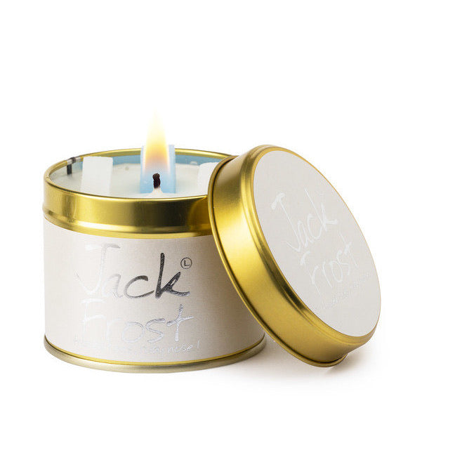 Lily-Flame Scented Tin Candle - Jack Frost