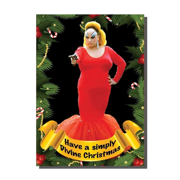 Have a Simply Divine Christmas Card