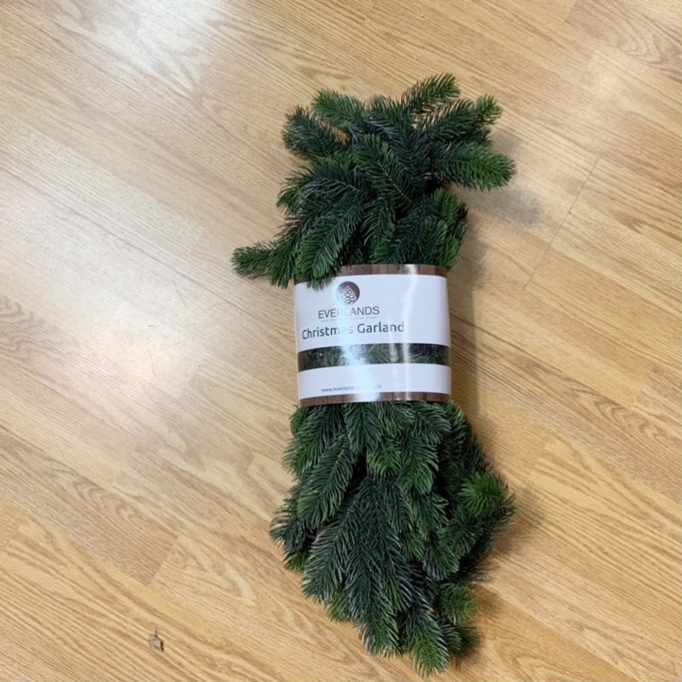 Faux Pine Christmas Garland Decoration