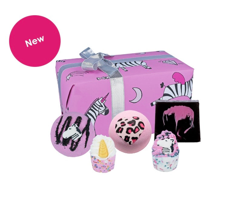 Bomb Cosmetics Gift Box Zebra Crossing