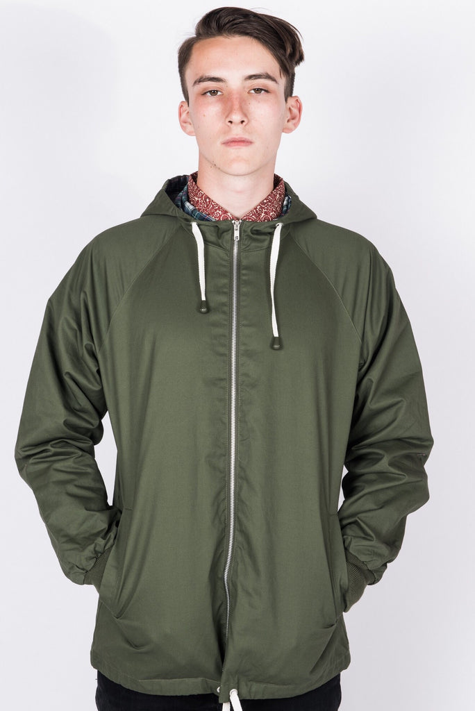 Men's Anorak Style Raincoat - 5 Colours