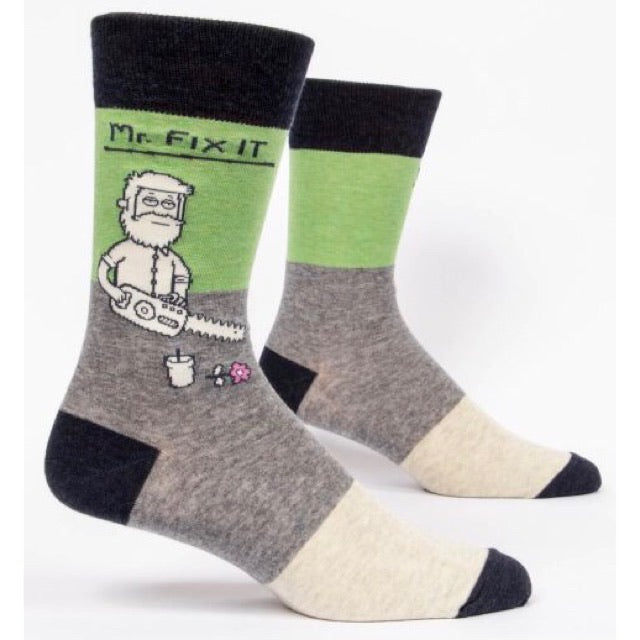 Mr. Fix It - Mens Crew Socks