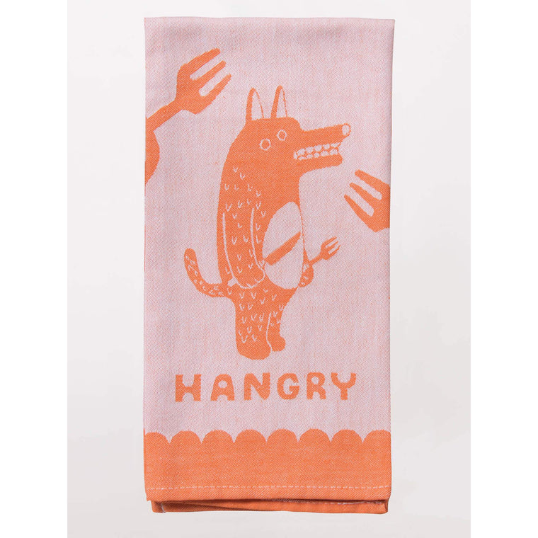 Blue Q Teal Towel - Hangry