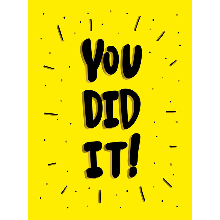 You Did It - New Book